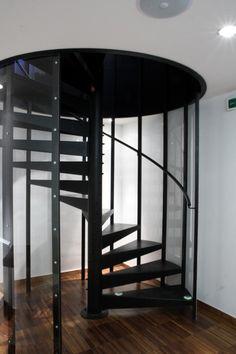 OOOOX | Blue Star - steel spiral stairs & enfold series Spiral Stair by enzie | staircase | Pinterest | Spiral ...