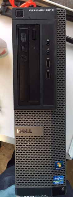Dell Optiplex 3010 Desktop Tower DT Core i3 3220 3.3GHz 4GB 250GB - Windows 7