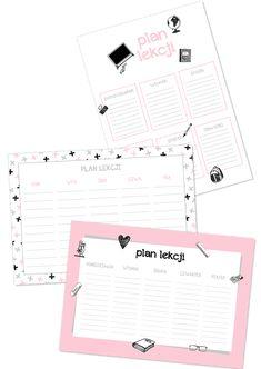 plan lekcji do druku