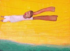 Volando en la arena sueño con el mar...