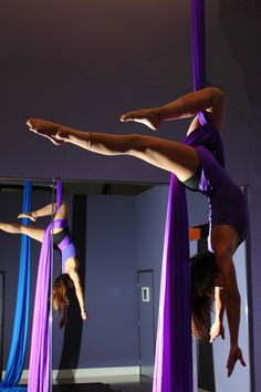 Graceful silks.