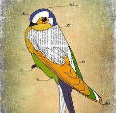 6eee197a3893894a8adf6904d8704415--bird-crafts-swallows.jpg (736×715)