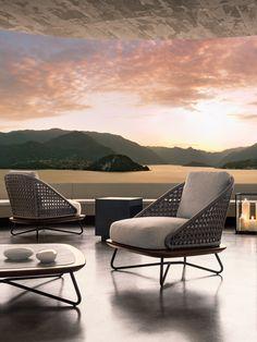Rivera armchair, Rodolfo Dordoni Design