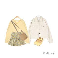 Korean Fashion Dress, Korea Fashion, Korean Outfits, Retro Outfits, Classy Outfits, Daily Fashion, Cool Outfits, Casual Outfits, Fashion Outfits