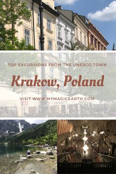 Planing your trip to Krakow and wondering what other places you could see during the limited stay? Here is my suggestion of the top Krakow day trips including the driving information and some tour options. Top Europe Destinations, Europe Travel Outfits, Europe Travel Guide, Travel Guides, Travel Abroad, European Destination, European Travel, Visit Poland, Poland Travel