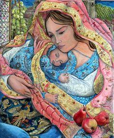 Краски жизни. Творчество Nerida de Jong. | Наслаждение творчеством