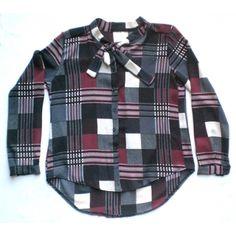Elegant checkered blouse