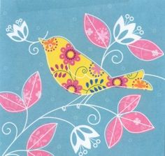 Pretty bird design