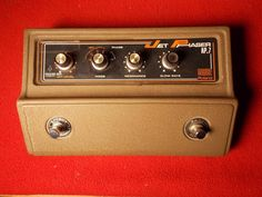 Vintage Roland Jet Phaser AP-7 Phaser Fuzz Effects Pedal Excellent Operating One