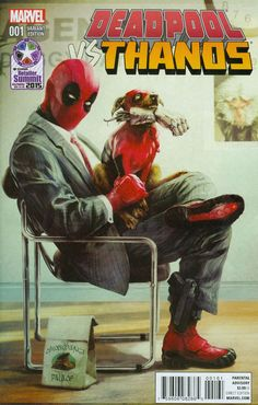 Deadpool Vs. Thanos # 1 (Variant) by Tim Seeley