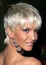 short gray hairstyles for older women - Google Search