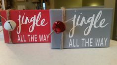 4x6 canvas...Jingle All The Way