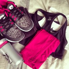 Cute workout outfit for the summer