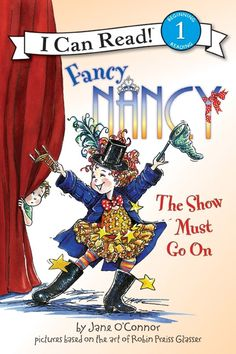 I Can Read Book 1 Fancy Nancy: The Show Must Go On    By Jane O'Connor / Available at www.BookLodge.com - Lowest Priced English and Chinese Online Bookstore for Children and Parents Worldwide