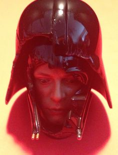 The 'Vader Visage' Portrait Included with the Sideshow Collectibles Exclusive Hot Toys Luke Skywalker Action Figure