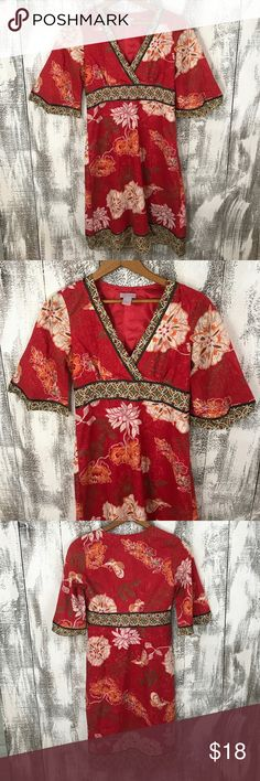 "Pura Vida Asian Style Dress No stains or holes, bust approx 16"" and length approx 37"" Pura Vida Dresses Midi"