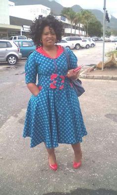 Gorgeous Shweshwe Dresses For Plus Size Shweshwe Dresses For Plus Size - This Gorgeous Shweshwe Dresses For Plus Size images was upload on November, 22 2019 by admin. Here latest Shweshwe Dr. Xhosa Attire, African Attire, African Wear, African Women, African Fashion, Seshweshwe Dresses, Plus Size Dresses, Fashion Dresses, Seshoeshoe Designs