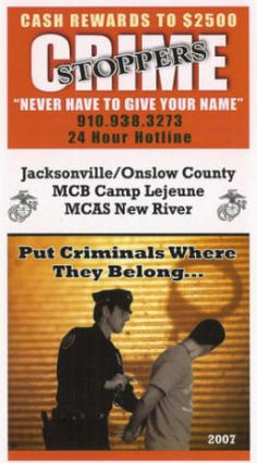 Onslow County Crimestoppers