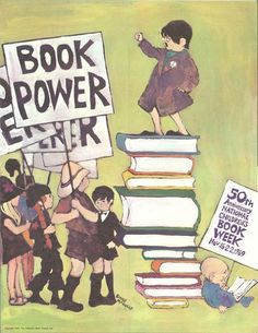 National Library Week Poster - 1969