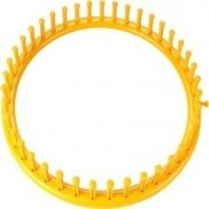 Free Patterns for the Knifty Knitter Yellow Round Loom