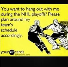 So true... The season hasn't even started and I'm already pumped for the playoffs, lol