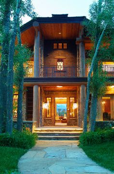 Wilderness Ranch Estate - rustic - entry - other metro - Dubbe Moulder Architects