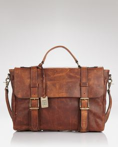 Frye Logan Briefcase with Handle - Bags & Briefcases - Accessories - Men's - Bloomingdale's