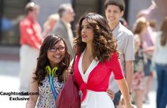 Charice & Salma Hayek   HERE COMES THE BOOM   Loved this movie. Female side - two women who are well featured. Male side - a music teacher who loves his wife, his music, his job and his students. A biology teacher who gains his passion for teaching back and goes all out to save his friends job.