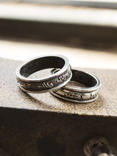 Demon & Angel Ring Set