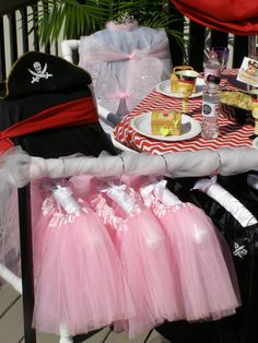 Pirate and Pixie Princess Party Ideas. Details on http://www.myprincesspartytogo.com/#piratepixiepartyideas #piratepartyideas #jakepirateparty