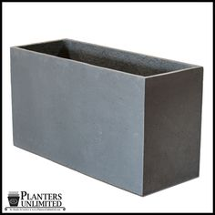 Titan Rectangular Weathered Stone Planter 72in.L x 18in.W x 24in.H $777.85