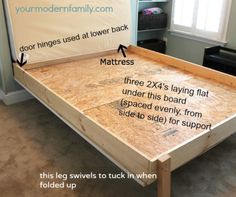DIY wall bed for $150