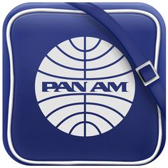 Pan Am iOs Icon by Marco Nenzi, via Behance Icon Phone, Computer Icon, Graphic Design Art, Ux Design, Icon Design, Launcher Icon, Mobile App Icon, Android Icons, Cute App