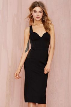 Nasty Gal All Business Bustier Dress | Shop The Party Shop at Nasty Gal