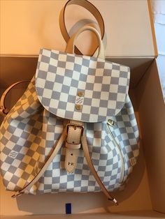 Sperone Backpack Louis Vuitton White Louis Vuitton Bag baa80eaf94ff9