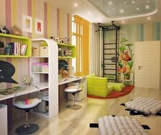 modern ideas for decorating kids rooms