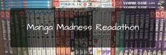 Sleepywolfread: Manga Madness Readathon 24-30 martie 2018