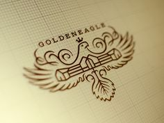 I love the styling on this. It would make a great personal/family crest.