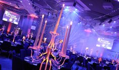 Classy LED table centres for corporate events, designed and produced by Table Art in our eco-friendly workshop. Table Centers, Center Table, Recent Events, Taper Candles, Lady And Gentlemen, Candelabra, Corporate Events, Eco Friendly, Workshop