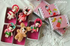 * 千鶴の人形の部屋作品集 * Fabric Dolls, Paper Dolls, Art Dolls, Handmade Soft Toys, Plush Pattern, Tiny Dolls, Sewing Dolls, Toy Craft, Waldorf Dolls