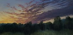 """""""Star Bright"""" by John Dean, Acrylic on stretched canvas, 20"""" x 40"""""""