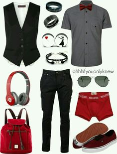Nice everything except the earings. This is a nice back to school or school dance outfit.