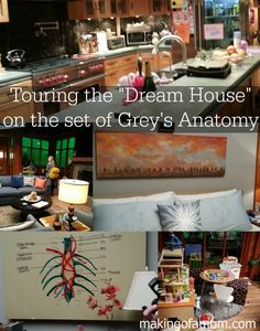 Visiting the Set of Grey's Anatomy and interviewing Sarah Drew, Jessica Capshaw and more!  #ABCTVEvent