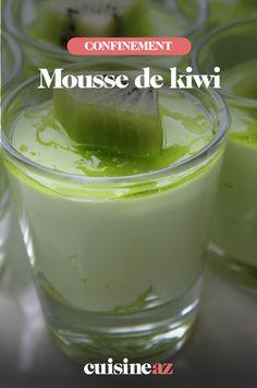 Que faire avec un kiwi trop dur ? Kiwi Dessert, La Marmite, Cucumber, Keto, Pudding, Nutrition, Cooking, Sweet, Food