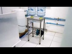 Water Delivery Service, Aquafresh, Factory Design, Water Systems, Bathtub, Interior, Vw, Youtube, Industrial