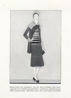 Chanel (Couture) 1929 Sweater, Douglas Pollard