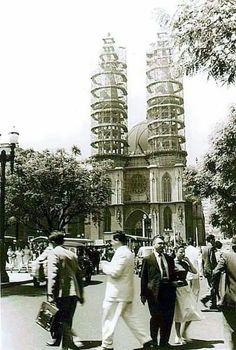 1950 construção da Catedral da Sé