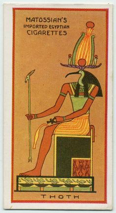 Ancient Egyptian Gods.