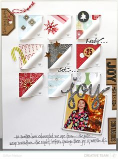 Scrapbooking Kits, Paper & Supplies, Ideas & More at StudioCalico.com! gillian Nelson - so cute!