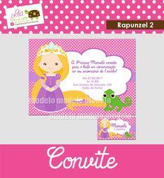 Convite Rapunzel 2